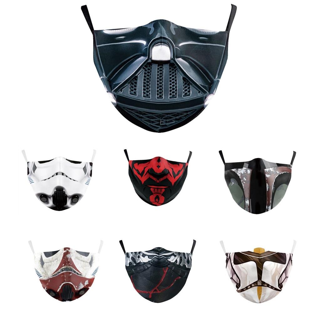 Mascaras Star Wars Masks Tapabocas Mascarilla Anime Mask Mascarillas Masque Maske