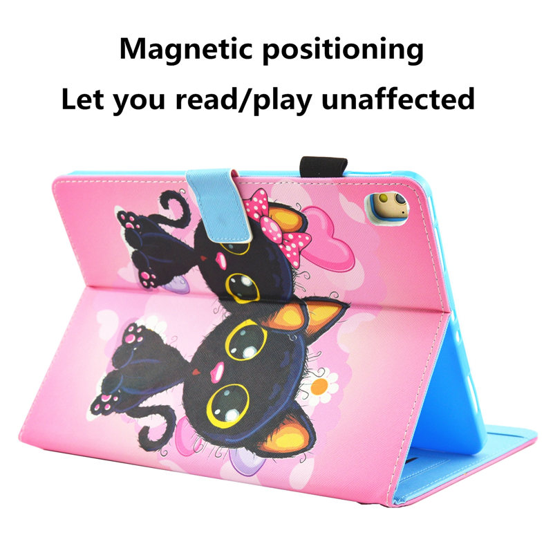 Cute Unicorn Cat Case For iPad 10 2 Case 2019 Tablet Cover For iPad 10 2