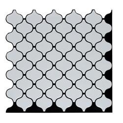 Moroccan Arabic Lantern Tile Self Adhesive Back Baffle 3D Mosaic Wallpaper Ethylene Bathroom Craft Decoration