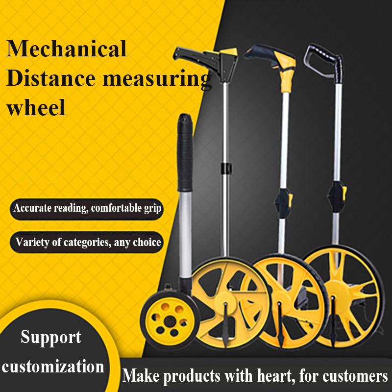 измерительное колесо с цифровым дисплеем измерительное колесо колесо измерения расстояния Портативное измерительное колесо Механическое...