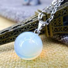 Натуральные камни популярный сплав + опал сферический камень