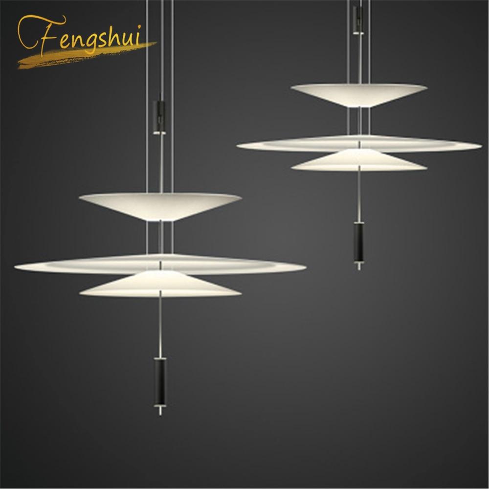 Modern LED Pendant Lights Lighting Restaurant Lighting Cafe Nordic Pendant Lamps Acrylic Hanging Lamp Kitchen Fixtures Luminaire