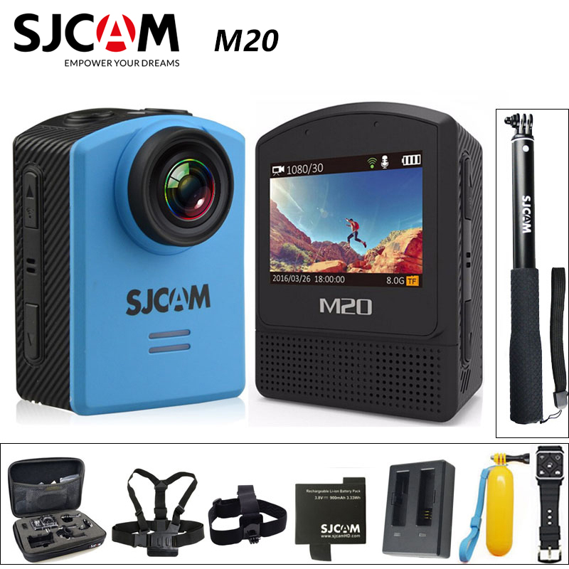 Original SJCAM M20 Sports Action Camera Underwater 4K Wifi Gyro Mini Camcorder 2160P HD 16MP Waterproof Sports DV image
