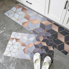 Geometric PVC Kitchen Carpet…