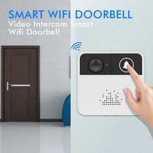 Camera Wireless Doorbell with Camera Security Video Intercom Wifi Door Phone Surveillance Super Mini Digital Door Viewer Bell(China)