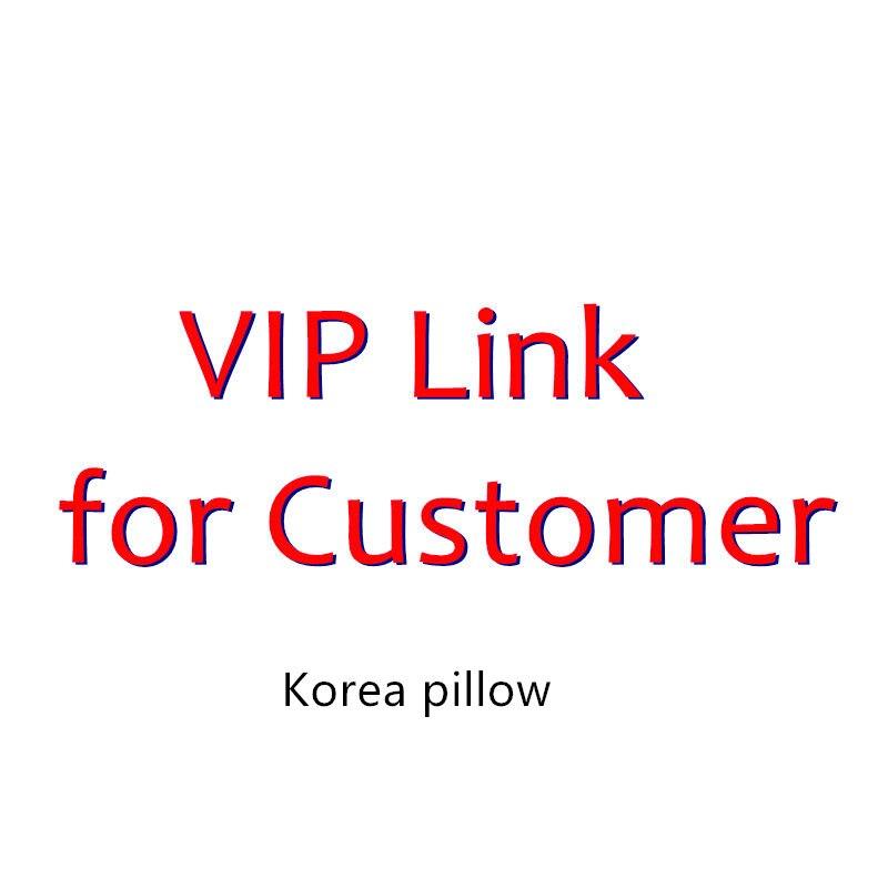 VIP lien coréen oreiller garçons