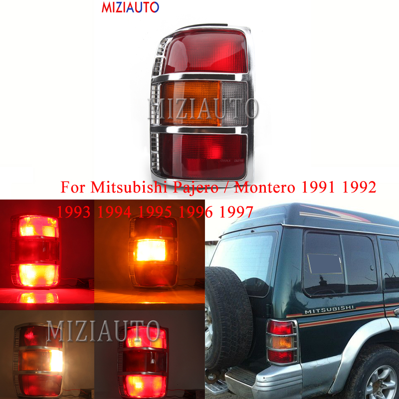 Mitsubishi Pajero Shogun 1992-2000 Bumper Tail Lights Rear Back Lamp RIGHT+LEFT