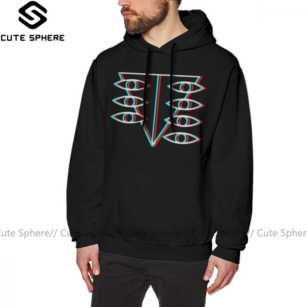 Evangelion Hoodie Seele Symbol Hoodies Black Cotton Pullover Hoodie Warm Fashion Outdoor Mens Over Size Long Hoodies