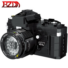 BZDA Mini Camera 360 Usb Bricks Small Camera Building Blocks Model New Creative Toys Kids Educational Toys Gifts 627 Pcs