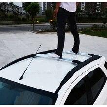 AITWATT подходит для Ford Ecosport от 2013 до алюминиевый сплав боковые брусья поперечные рельсы на крышу багажника Багажник для автомобиля Стайлинг 2 шт