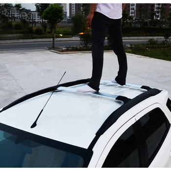 AITWATT Fit For Ford Ecosport 2013 to 2020 Aluminum Alloy Side Bars Cross Rails Roof Rack Luggage Carrier Rack Car Styling 2Pcs