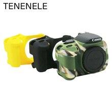 Kamera çantaları Canon EOS 600D 650D 700D yumuşak silikon kılıf kauçuk kapak için Canon 600 650 700 D koruma aksesuarları dayanıklı