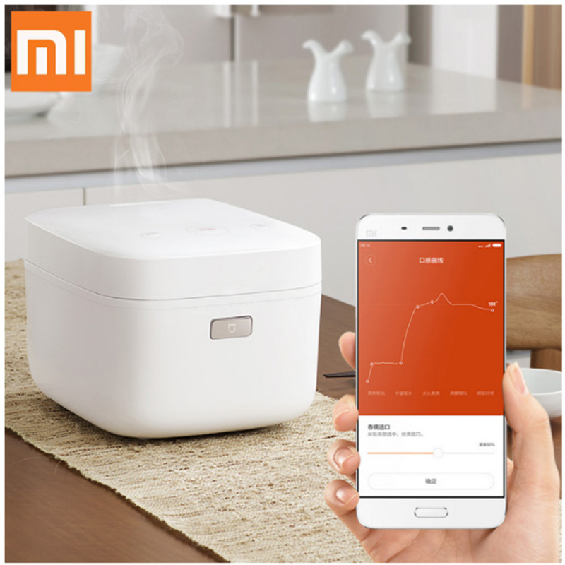 01 Mijia Mi IH Smart Electric Rice Cooker 3L Alloy Cast Iron IH Heating Pressure Cooker APP Remote Control Home Appliances