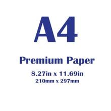 White Paper 100 sheets,Premium A4 ,Size 210 x 297 mm (8.3