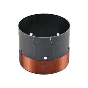 """Image 4 - GHXAMP 63.5MM basse voix bobine SubWoofer 8OHM noir aluminium son sortie dair trou pour 12 """"15"""" pouces haut parleur réparation bricolage 1 paires"""