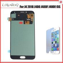 עבור סמסונג גלקסי J4 2018 LCD עבור סמסונג J400 J400F J400G/DS J400F/DS LCD תצוגת מסך מגע digitizer עצרת החלפה