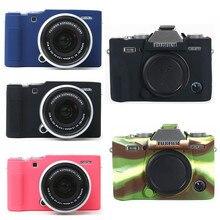 Silicone Case Camera Bag for Fujifilm X100V X T200 X T100 XT100 XT4 X T4 X T3 X T30 XT30 X A7 XA7 X T20 X T10 X A5 X A20 XT200
