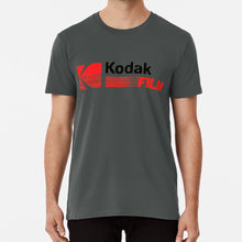 Vintage Photography: Kodak Film T shirt photographer kodachrome kodak movie vintage analogue 35mm yellow hipster outsider(China)