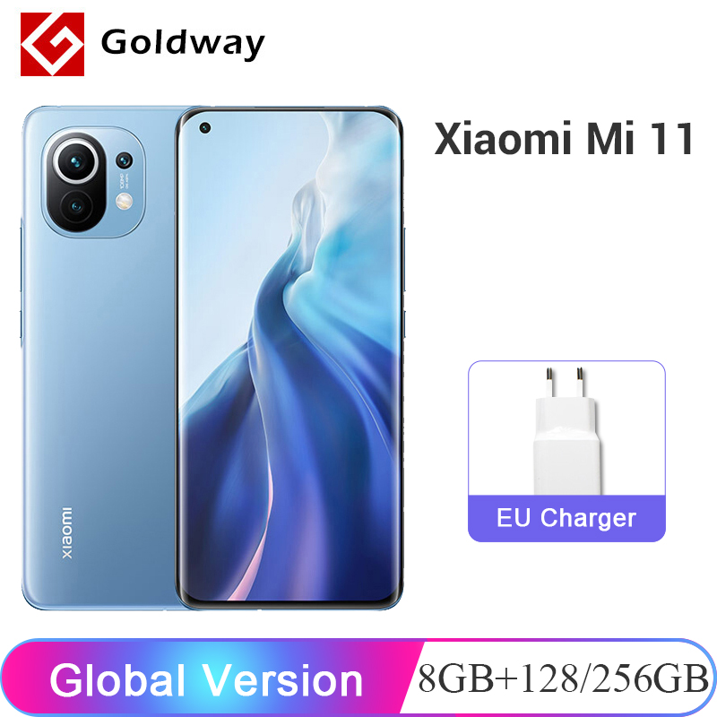 "Globalna wersja Xiaomi Mi 11 Mi11 8GB RAM 128GB / 256GB ROM telefon komórkowy Snapdragon 888 108MP kamera 6.81 ""120Hz AMOLED Display|Telefony Komórkowe| - AliExpress"