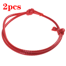 Thread Bracelets Rope-String Charm Couple Love Jewelry Gift Women Fashion 2pcs Band Lucky