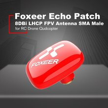 Foxeer Echo Patch 8DBi RHCP/LHCP FPV Small Antenna SMA Male for RC FPV Racing Drone Quadcopter Aircraft UAV Model RC Spare Parts цена