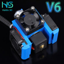 Top Quality All Metal V6 J-head Hotend Bowden Extruder Kit For E3d V6 volcano Hotend Cooling Fan Bracket Block 3D Printers Parts