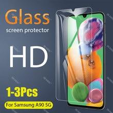 1-3 peças Full Vidro Temperado Para Samsung Galaxy A90 5G Protetor de Tela de vidro temperado para Samsung Galaxy a90 5G Película Protetora