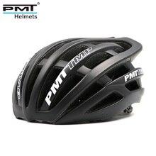 Cycling Helmet Ultralight Bicycle Helmet integrally molded Road cycling helmet Mountain Bike Helmet 30 holes PMT 2019 Hot Sale недорого