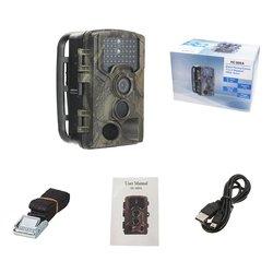 1080P Outdoor Hunting Camera 16MP 32GB IR Night Vision HD 120 Degree Waterproof Camera With LED Surveillance HC-800A/G/M Camera