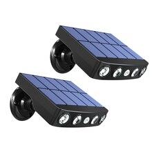 Solar-Light Garden-Path Outdoor Motion-Sensor Powerful Street LED