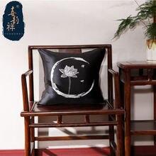 Чехол для подушки шелковые чехлы королевские диванные современные