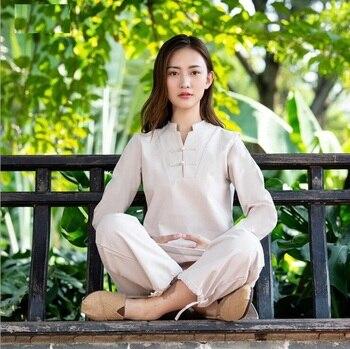 Sport group travellinThickened winter Enlarged widened soft Cotton liene Yoga Taiji Kuangfu practice master meditation Guqin недорого