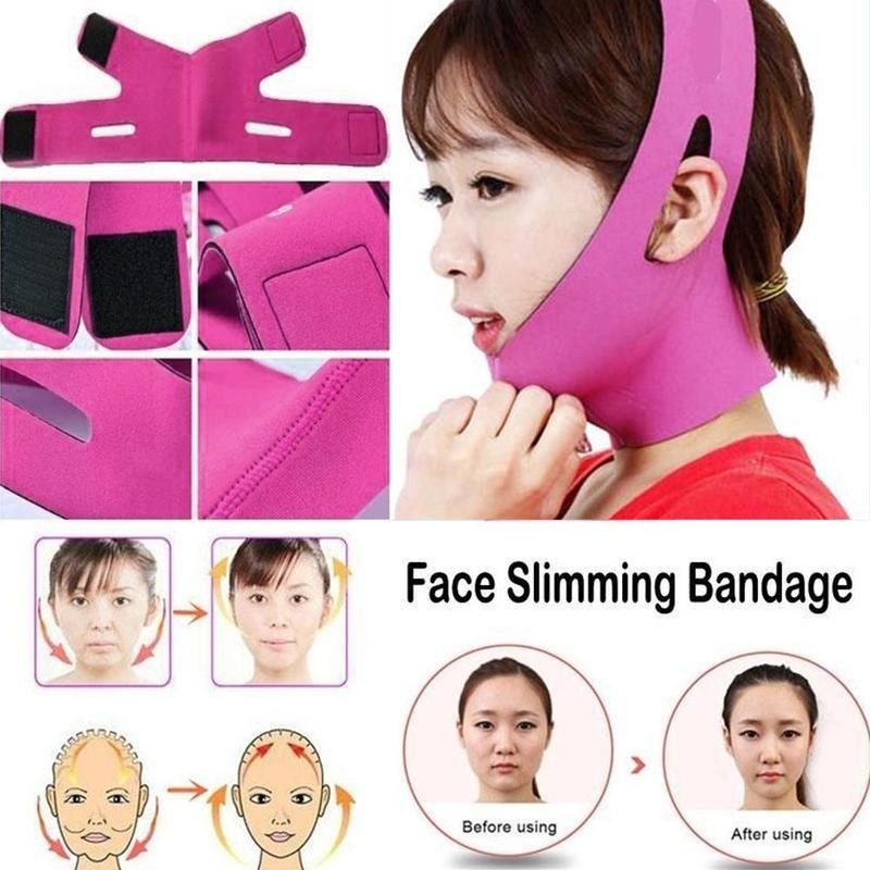 Lifting Bandage Women Anti Wrinkle Reduce Double Chin Bandage V Face Line Lift Up Shaper Beauty Tool Slimming Products