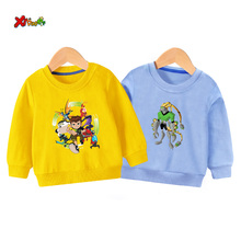 kids sweatshirt cool Ben10 children cute sweatshirts fashion toddler Baby boy Long Sleeve Toddler white for  2019
