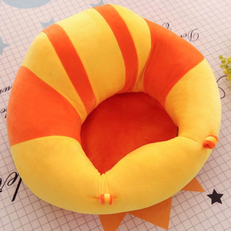 Baby Seat Cushion Children's Learning Chair Sofa Baby Learning Seat Infant Safety Seat Plush Toys