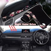 цена на Tommia China decorative pattern Car Dashmat Dashboard Mat Non-slip Dash Board Pad Cover for Mazda CX-5