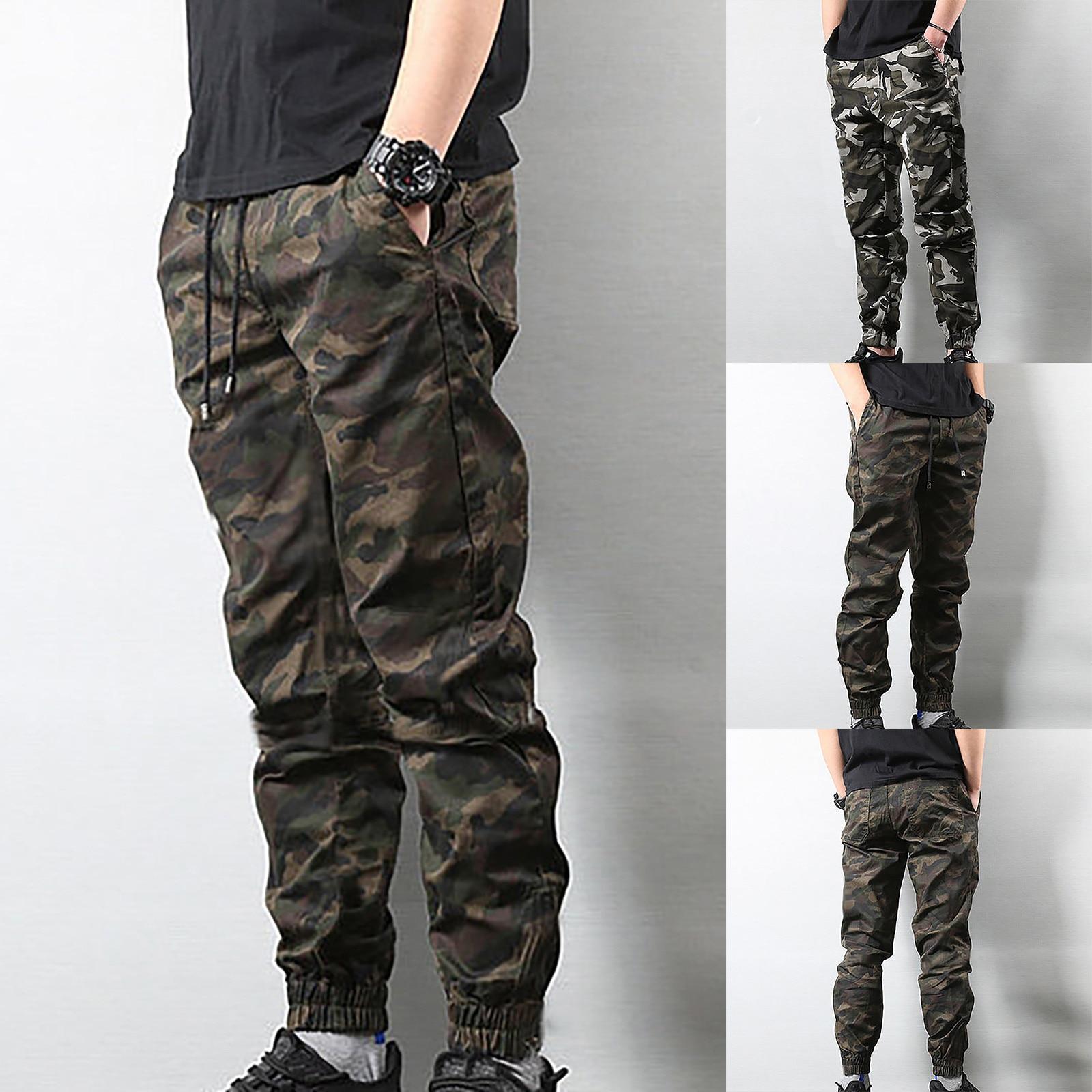 2021 Men's Fashion Casual Plus Size Loose Printing Sports Long Sweatpants Pants Male Sports Running Gym Sweatpants штаны мужские