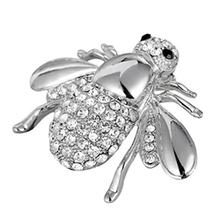 Vintage Design Animal Shape Women Brooch European American Fashion AAA Zircon Decoration Ladies Brooch Pin Jewelry(China)