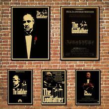 Pósteres vintage godfather, impresiones, pintura de pared, decoración de alta calidad, póster, pintura de pared, decoración del hogar