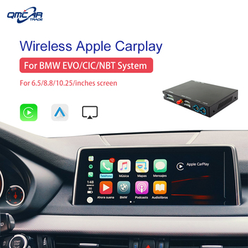 Wireless Apple CarPlay Carlinkit for BWM CIC/NBT/EVO System 6.5/8.8/10.23 Inch Android Auto Car play Support Mirrorlink
