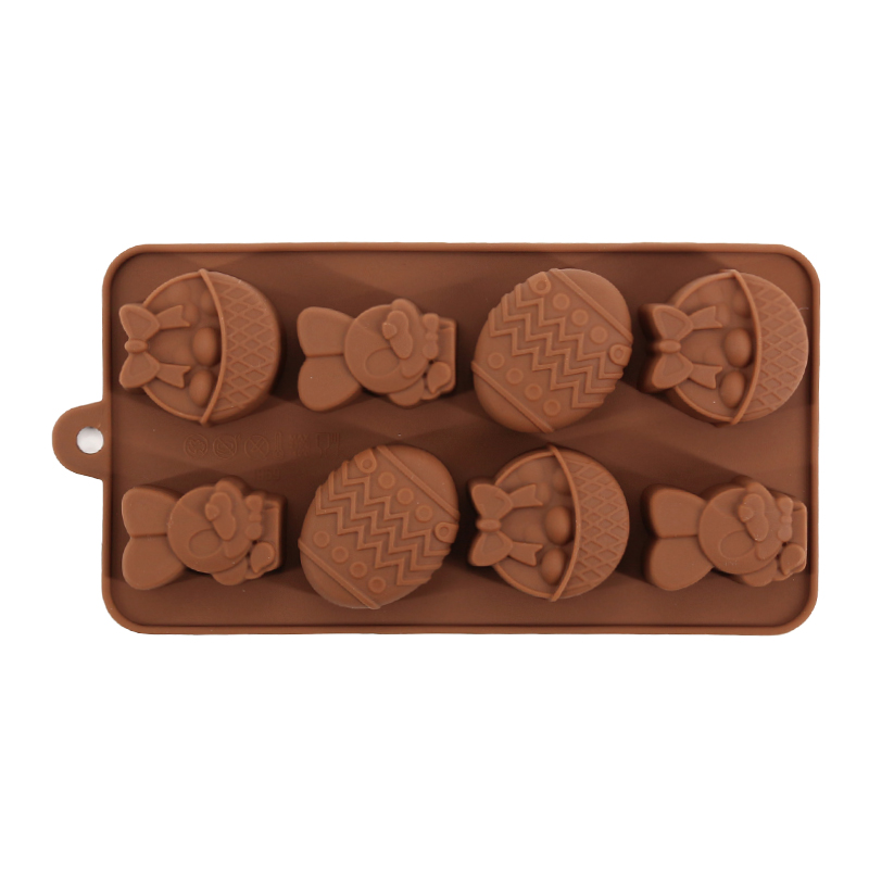 DIY Silicone Small Animal  Rabbit Cake Mold Shape Jelly Pudding Cholocate Moulds Baking Desserts Decorating Tools