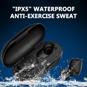 Image 4 - A6X tws 5.0 ワイヤレスイヤホンタッチスポーツゲーム Bluetooth イヤホンインナーイヤー Iphone Xiaomi 充電とボックス PK Redmi Airdots