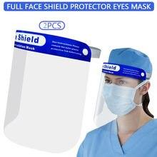 Máscara facial claro anti-viseira óleo respingos fumos protetor capa completa masky mascarillas máscara boca lavável por atacado em estoque # m