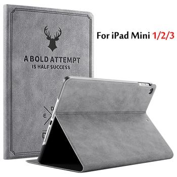 Case For iPad Mini 1 / Mini 2 / Mini 3 7.9''Tablet Case Magnetic Flip Stand PU Leather Case For iPad Mini1/2/3 Smart Cover Funda