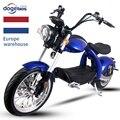 Дизайнерский мотор M4 2000 Вт Citycoco со съемной батареей 20 Ач, электрический мотоцикл для Европы