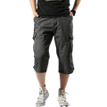 Мужские брюки-карго  летние  хлопковые  с несколькими карманами  камуфляжные  повседневные  для бега  2018