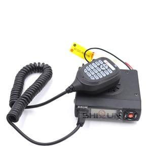 Image 5 - 25W Mobile Car Walkie Talkie BJ 218 with Antenna SG M507 Z218 UHF VHF Dual Band Mini Car Radio 10 KM Baojie BJ 218 Long Range
