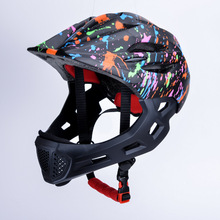 Children LED Mountain Mtb Road cycling Helmet Kids Full Face Bike Bicycle Detachable Pro Protection Cascos Ciclismo