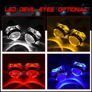 Image 5 - Sinolyn For Hella 3R G5 Headlight Lenses 3.0 HID Bi xenon Projector Lens Replace Car Lights Accessories Retrofit D1S D2S D3S D4S