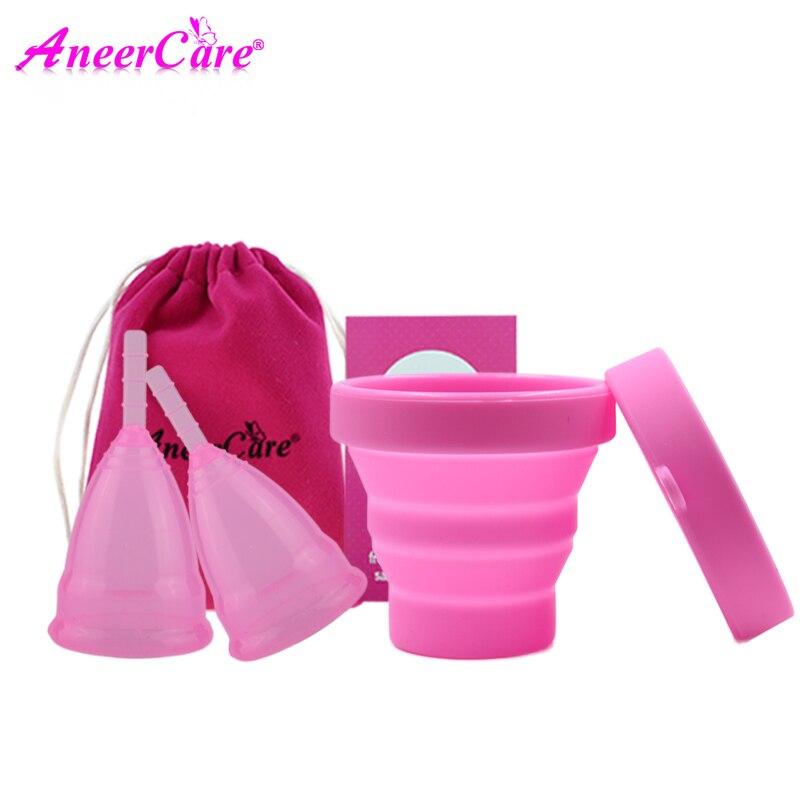 2 pcs menstrual cup sterilizer period cup copa menstrual de …